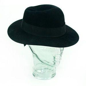 Ann Taylor Wool Boho Black Hat